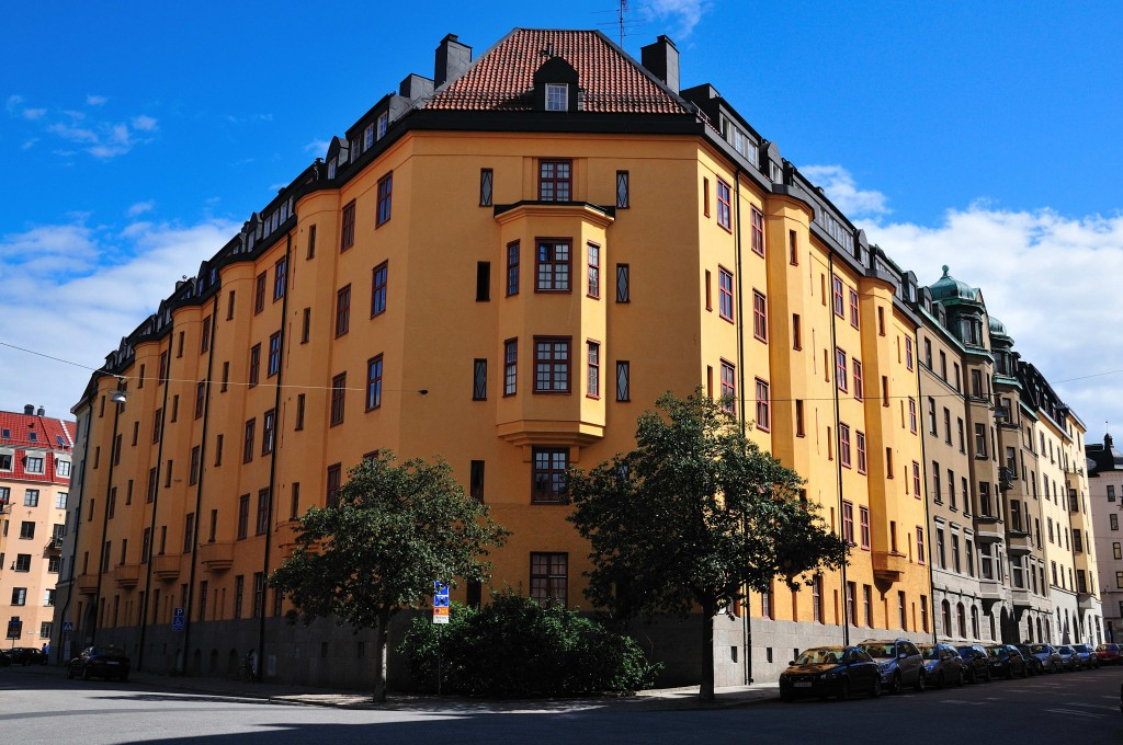 Västeråsgatan 3 från korsningen Västeråsgatan Västmannagatan